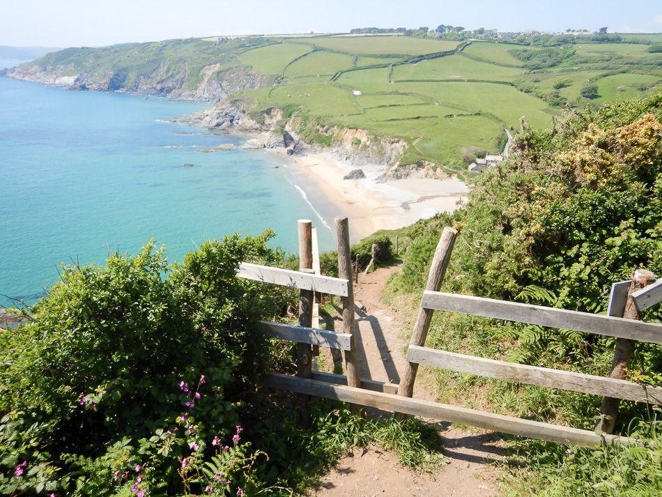 Groot Brittannië Zuid Cornwall Een Vleugje Exotiek In